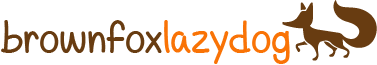 Brown Fox Lazy Dog logo